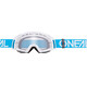 ONeal B-20 Goggle FLAT teal/white-clear
